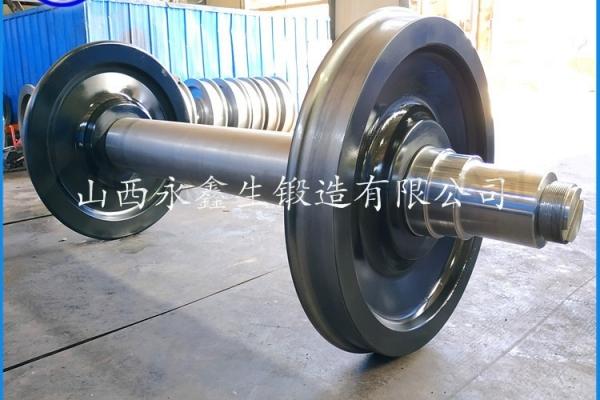 转向架车轮组锻件