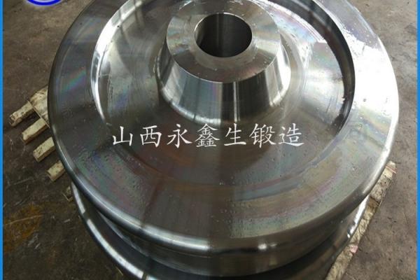 锻造加工40Cr电机车车轮