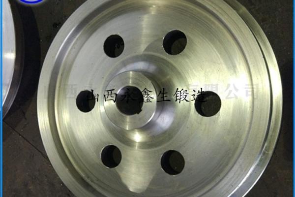 锻压65Mn桥式起重机车轮